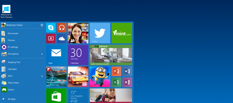 Windows 10 se asoma con mucha expectativa