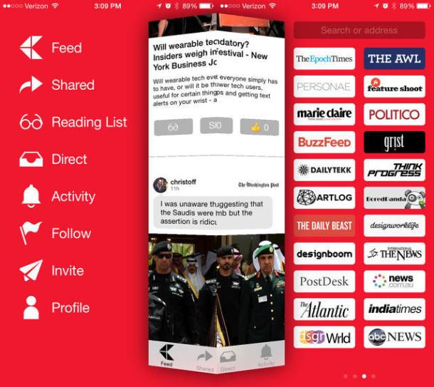Kite, el Instagram de las noticias: Red social de contenidos sin algoritmo