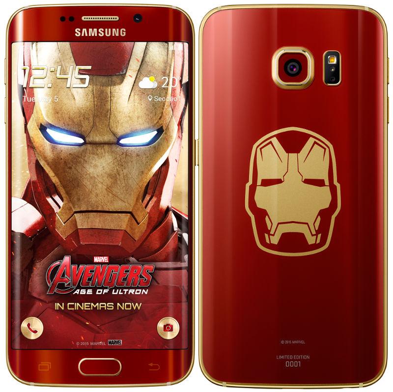 Samsung Galaxy S6 versión Iron Man, un modelo para fanáticos