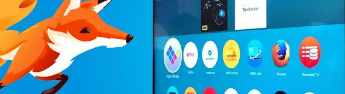 Panasonic lanza al mercado Smart TV con Firefox OS